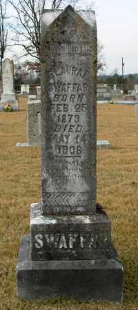 SWAFFAR, FLAURA F. - Cleburne County, Arkansas | FLAURA F. SWAFFAR - Arkansas Gravestone Photos