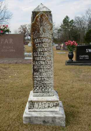 SWAFFAR, MARY ANN - Cleburne County, Arkansas | MARY ANN SWAFFAR - Arkansas Gravestone Photos
