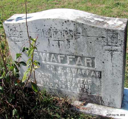 SWAFFAR, OLEVIER E - Cleburne County, Arkansas | OLEVIER E SWAFFAR - Arkansas Gravestone Photos