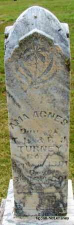 TURNEY, IMA AGNES - Cleburne County, Arkansas   IMA AGNES TURNEY - Arkansas Gravestone Photos