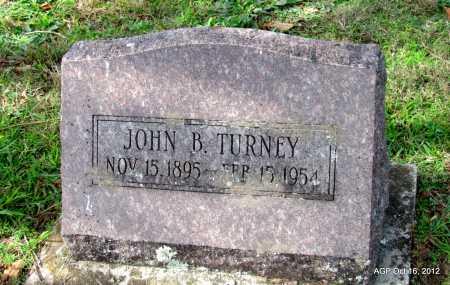 TURNEY, JOHN B. - Cleburne County, Arkansas | JOHN B. TURNEY - Arkansas Gravestone Photos