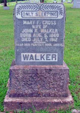 CROSS WALKER, MARY F. - Cleburne County, Arkansas | MARY F. CROSS WALKER - Arkansas Gravestone Photos
