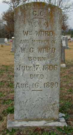 WARD, C. C. - Cleburne County, Arkansas | C. C. WARD - Arkansas Gravestone Photos