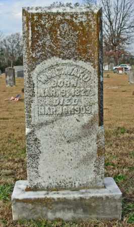WARD, WM. G. - Cleburne County, Arkansas | WM. G. WARD - Arkansas Gravestone Photos