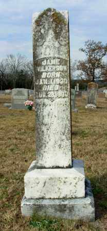 WILKERSON, JANE - Cleburne County, Arkansas | JANE WILKERSON - Arkansas Gravestone Photos