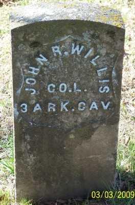 WILLIS (VETERAN UNION), JOHN - Cleburne County, Arkansas   JOHN WILLIS (VETERAN UNION) - Arkansas Gravestone Photos