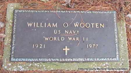 WOOTEN (VETERAN WWII), WILLIAM O - Cleburne County, Arkansas | WILLIAM O WOOTEN (VETERAN WWII) - Arkansas Gravestone Photos