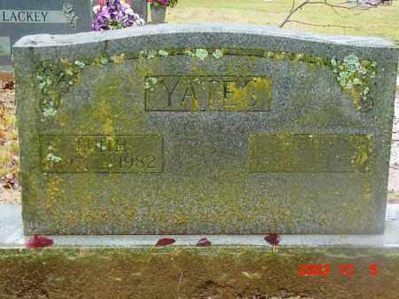 YATES, JOHN HENRY - Cleburne County, Arkansas | JOHN HENRY YATES - Arkansas Gravestone Photos