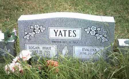 "YATES, LOGAN ""HOOT"" - Cleburne County, Arkansas | LOGAN ""HOOT"" YATES - Arkansas Gravestone Photos"