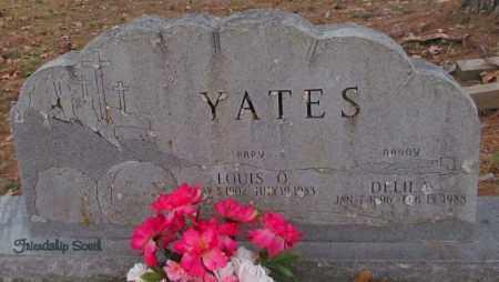 YATES, DELILA - Cleburne County, Arkansas | DELILA YATES - Arkansas Gravestone Photos