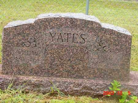 YATES, WILLIAM - Cleburne County, Arkansas   WILLIAM YATES - Arkansas Gravestone Photos