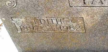 YATES, EDITH CHLOE - Cleburne County, Arkansas | EDITH CHLOE YATES - Arkansas Gravestone Photos