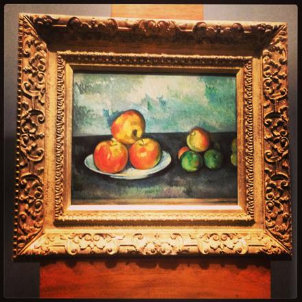 » Cezanne – Les Pommes Installation – Sothebys ...