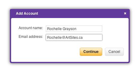 Yahoo Add Account Dialog Box 1