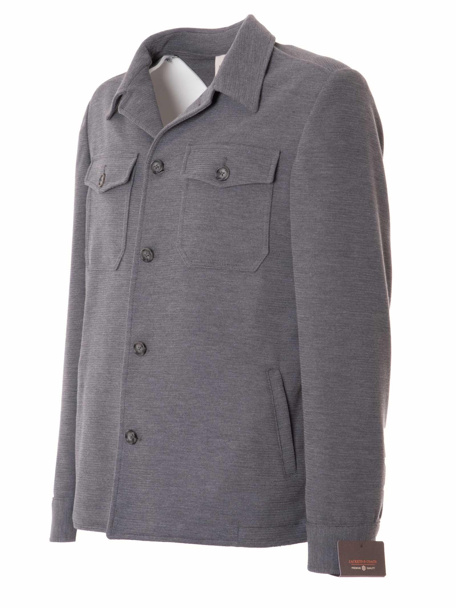 giacca/camicia in maglia GABARDINE | GABCAMYCOL.23