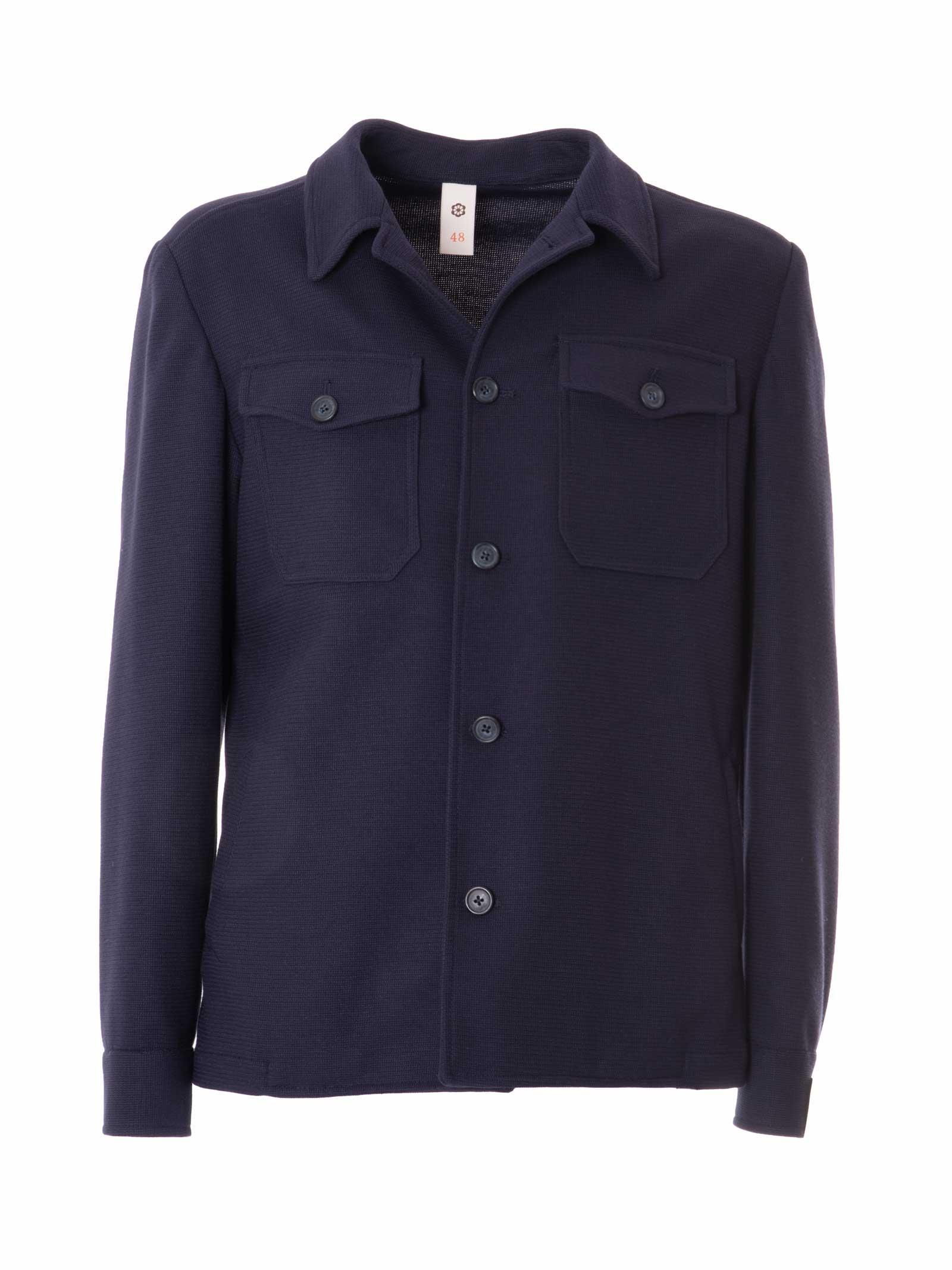 giacca/camicia in maglia GABARDINE   GABCAMYCOL.63