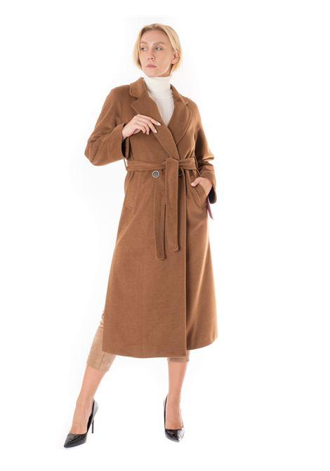 cappotto lungo con cinture MARTA MARZOTTO | 050211MARRONE