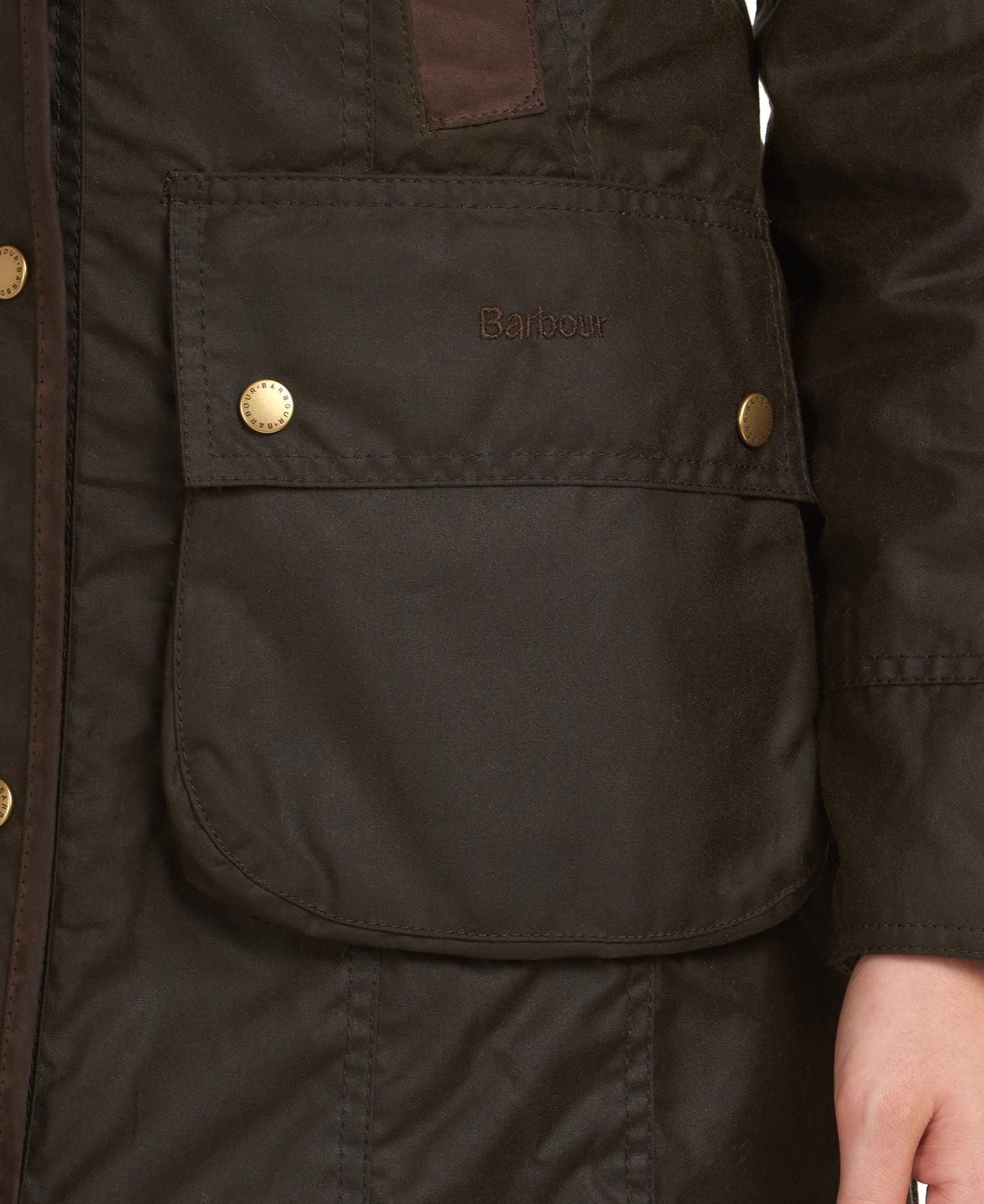 Jacket Bower Wax Barbour BARBOUR | -276790253 | LWX0534OL71