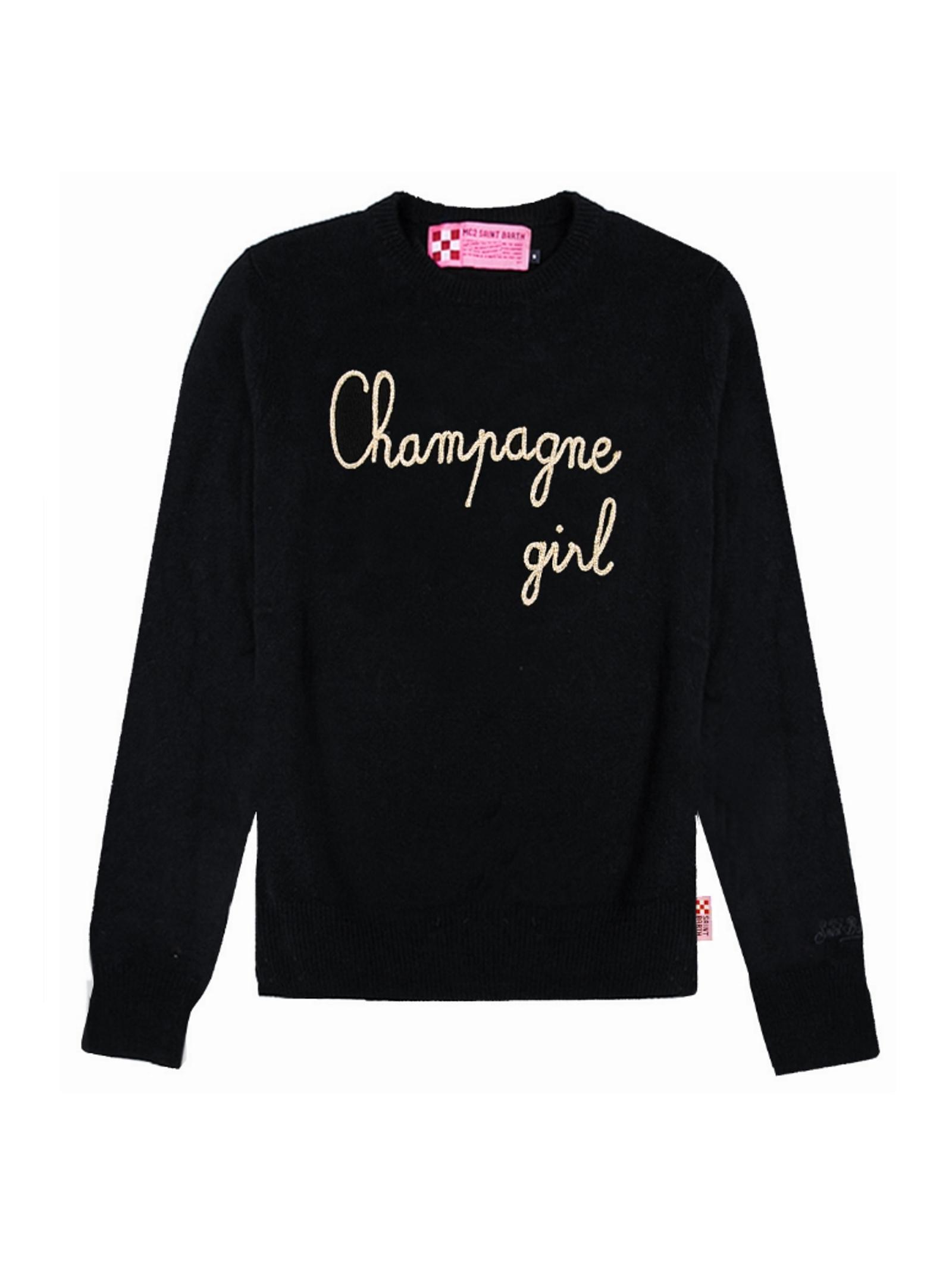 Pullover Champagne Girl MC2 Saint Barth MC2  SAINT BARTH   1   EMCG0R00OR