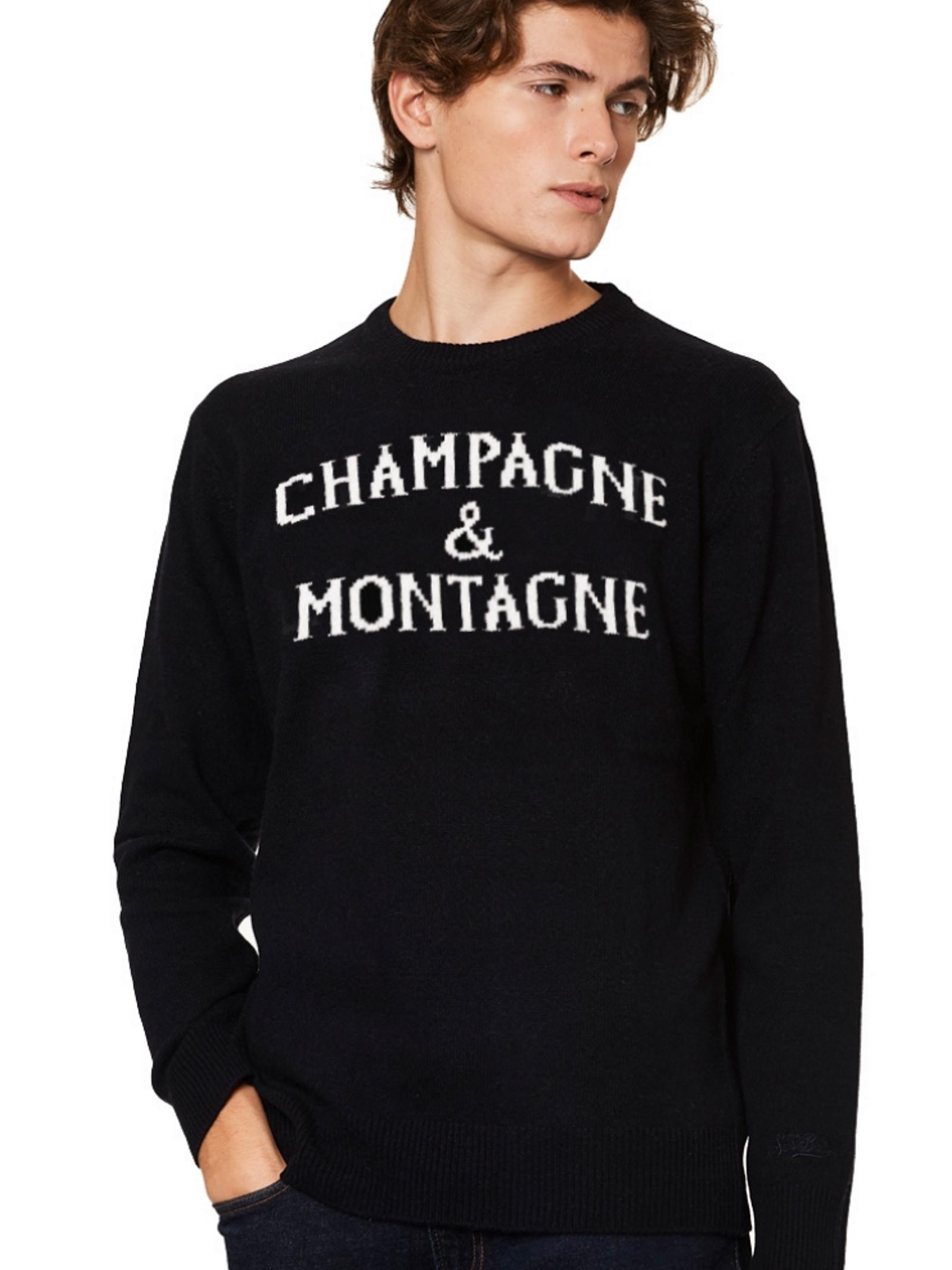 Maglione Champagne & Montagne MC2 Saint Barth MC2  SAINT BARTH   1   MNCH6161