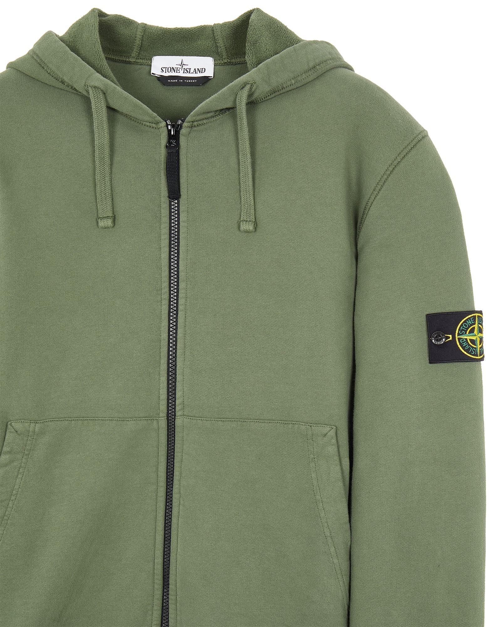 Sweatshirt with zip Stone Island Stone Island | -108764232 | 751564220V0055