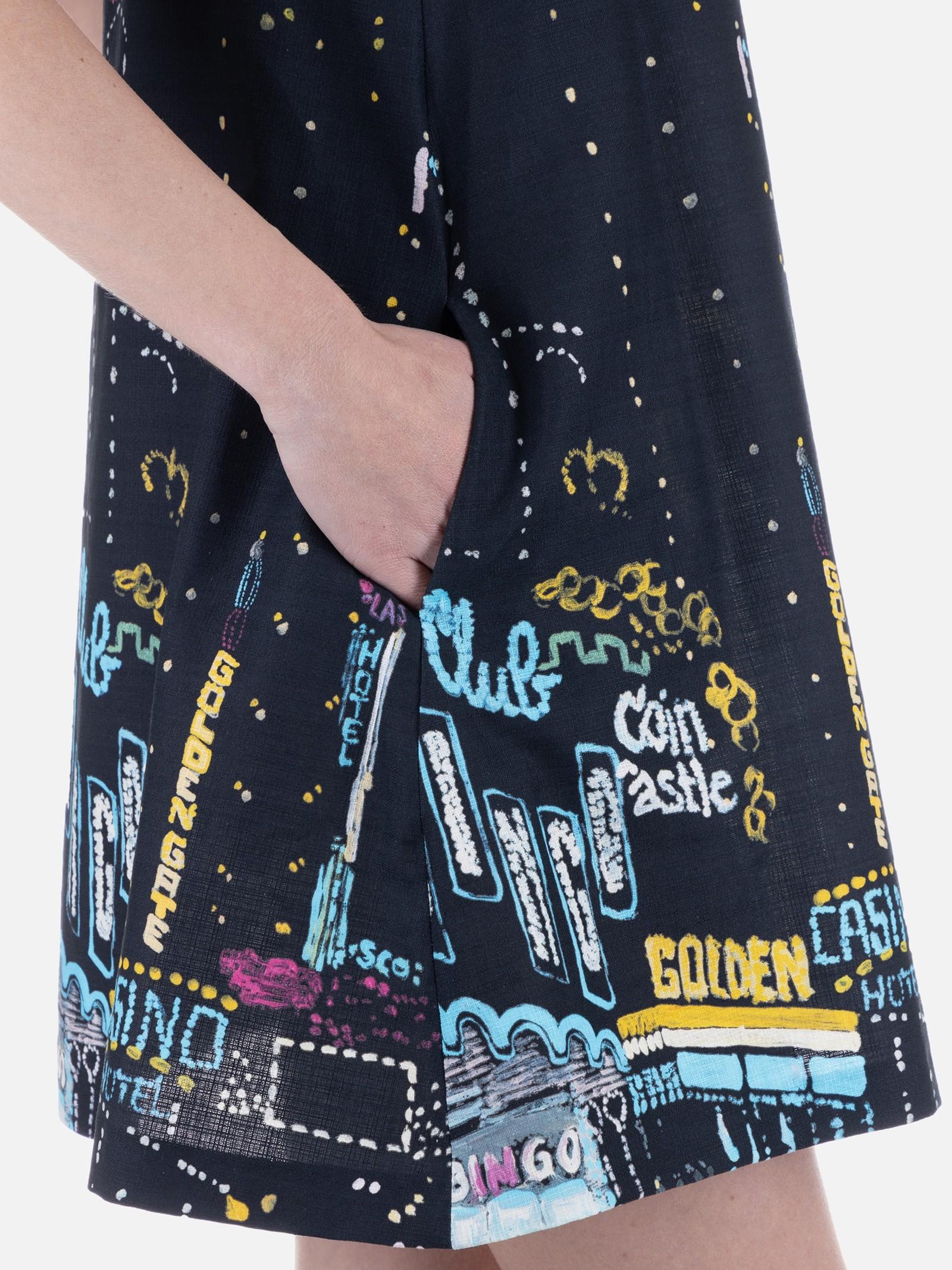 Dress I BLUES I BLUES | 5032427 | RIALTO006