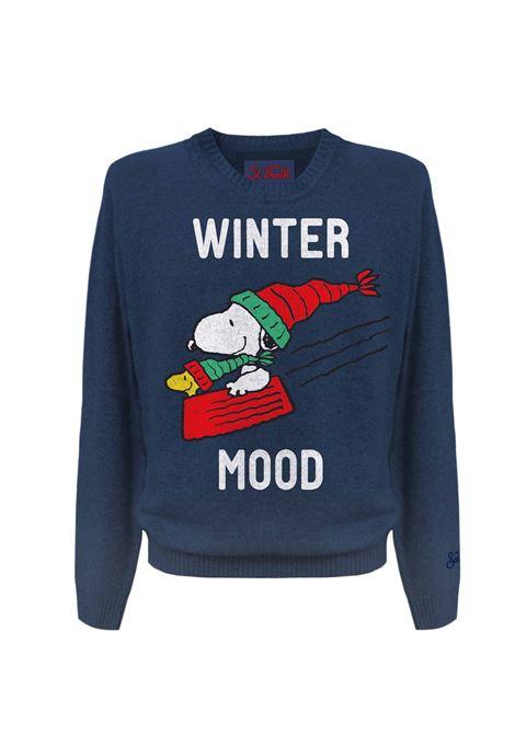 Shirt Snoopy Winter MC2 Saint Barth MC2  SAINT BARTH | 1 | SNSL6161