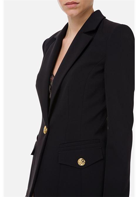 Jacket with V-neck Elisabetta Franchi ELISABETTA FRANCHI | 3 | GI96611E2110
