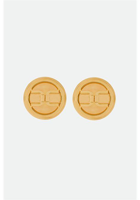 Button earrings Elisabetta Franchi ELISABETTA FRANCHI | 48 | OR2MC11E2U95