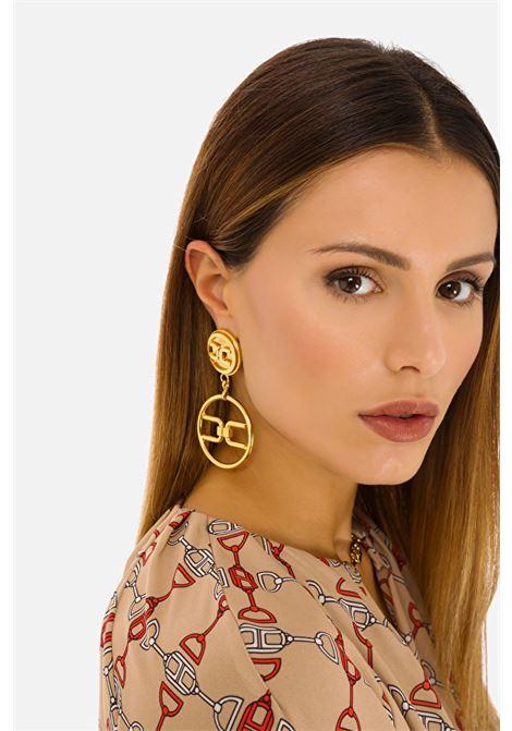 Pendant earrings Elisabetta Franchi  ELISABETTA FRANCHI | 48 | OR3MC11E2U95