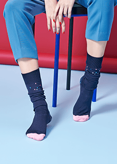 madda knee sock HAPPY SOCKS | 14418W0126000 | 39.41