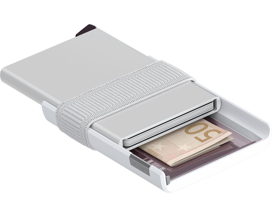 PORTACARTE CARDSLIDE SECRID   CS - WHITEWHITE