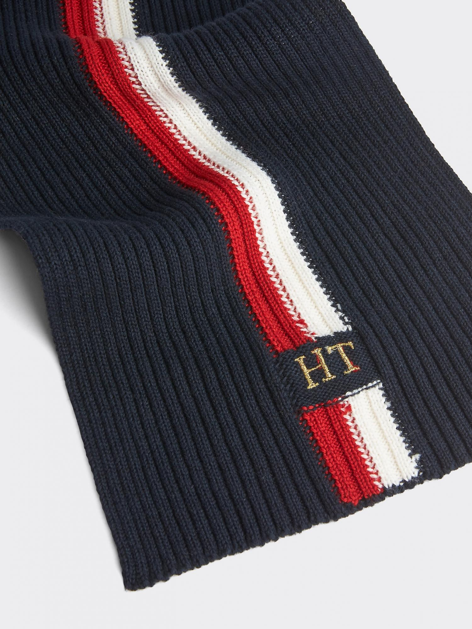 Sciarpa icon in lana merino TOMMY HILFIGER   AM0AM05189NAVY