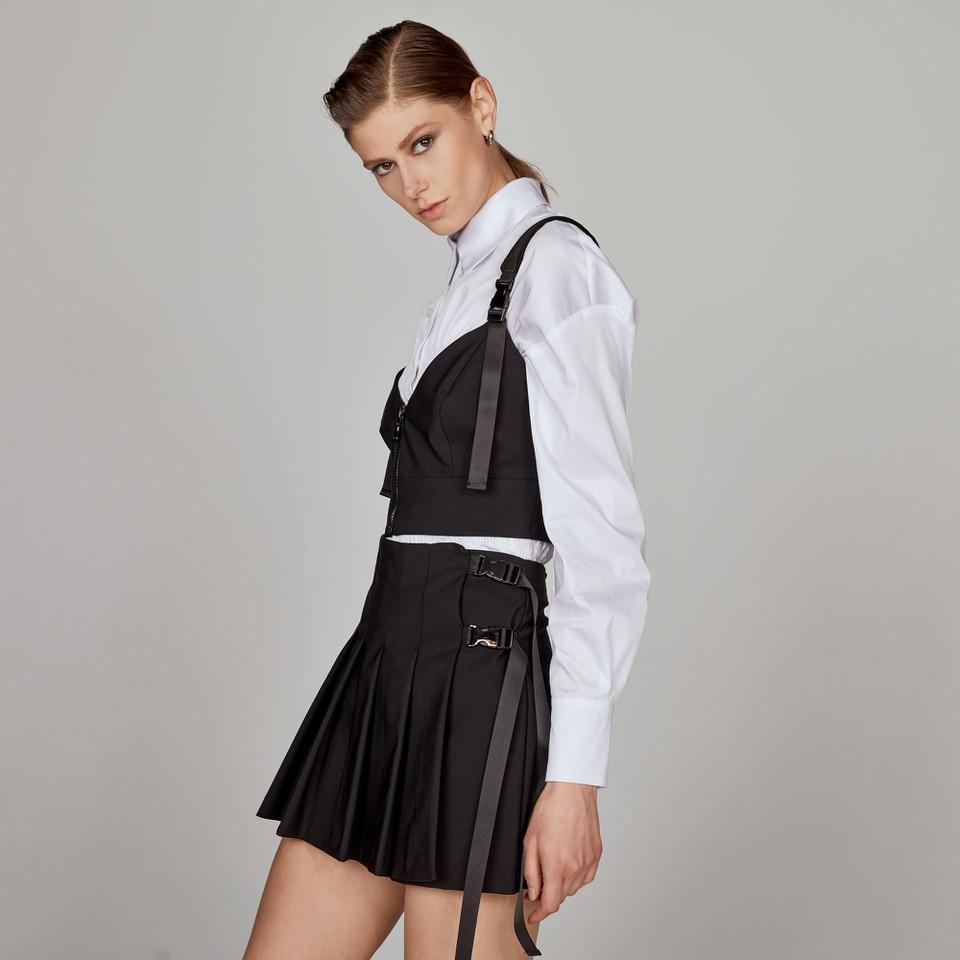 top con zip in nylon ACCESS fashion | W1-2011906