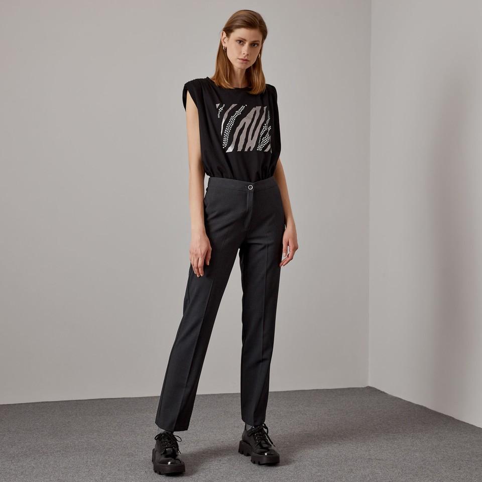 pantalone con elastico in vita ACCESS fashion | W1-5029111