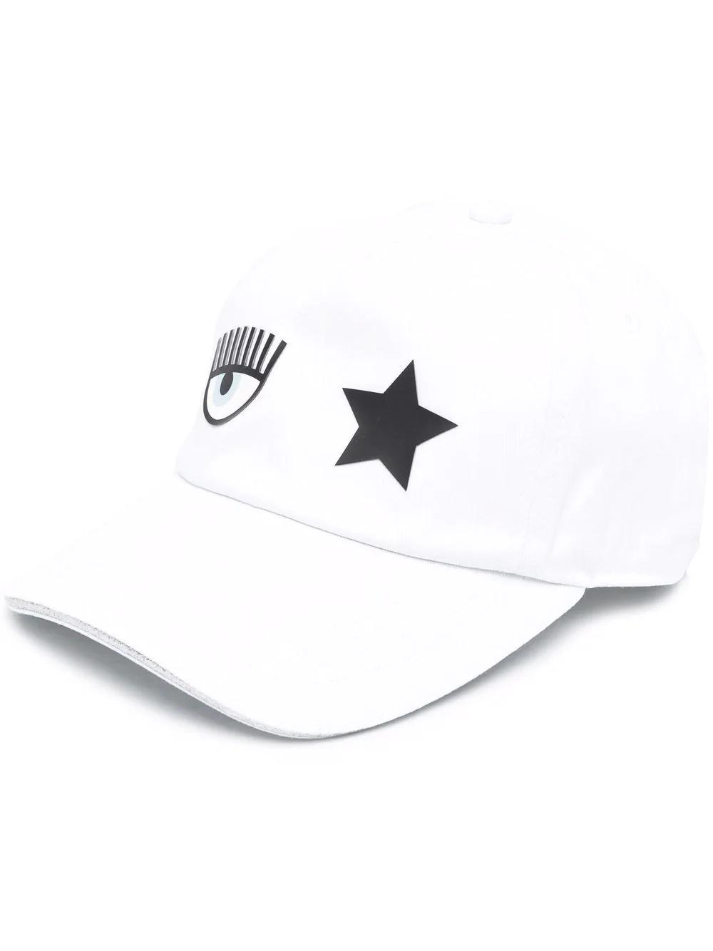 Cappello da baseball con stampa CHIARA FERRAGNI | 71SBZK13 ZG036003