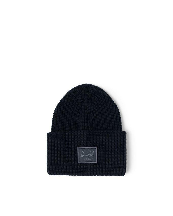 cappello risvolto costa larga HERSCHEL | JUNEAUBLACK