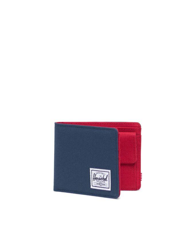 pf con portamonete roy HERSCHEL | ROY COIN RFIDNAVY RED