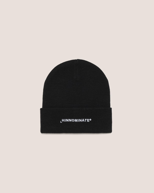 cappello a coste con risvolto HINNOMINATE | HNACA01NERO