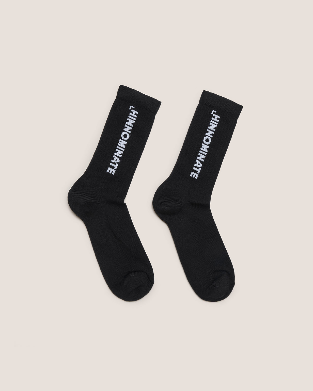 calze in cotone logo HINNOMINATE   HNAMCZ01NERO