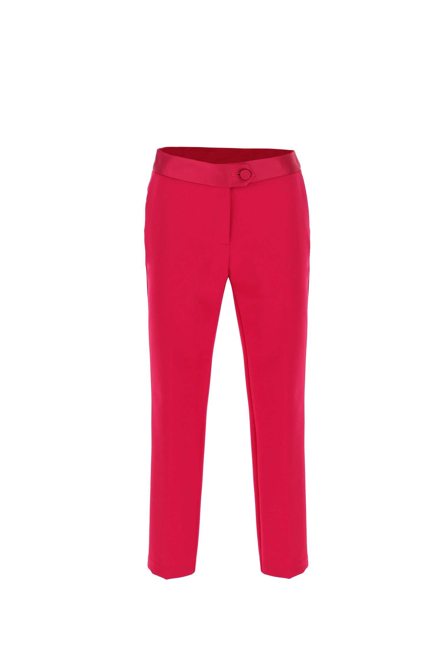 pantalone tailleur slim fit IMPERIAL | PVN2CDHMAGENTA