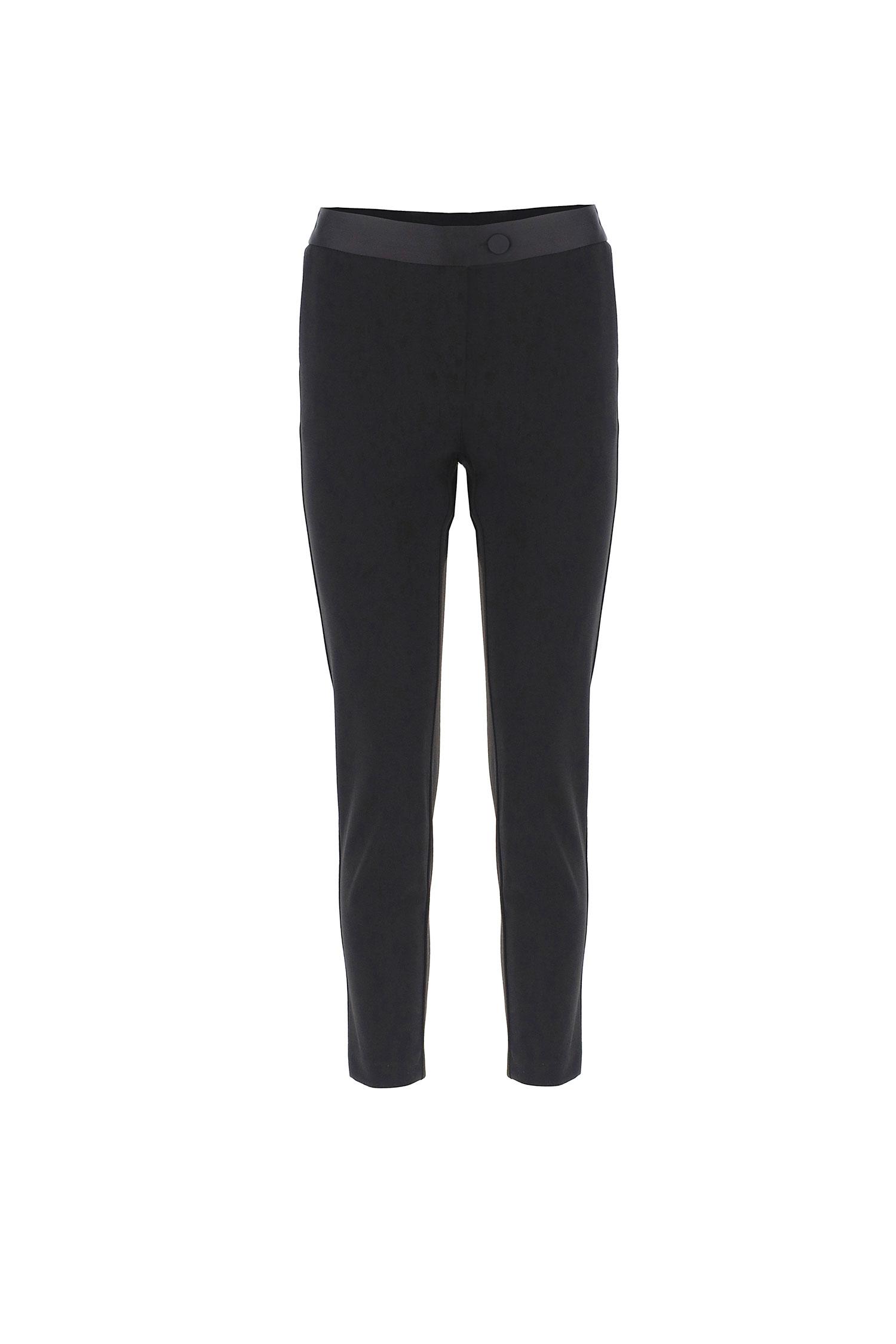 pantalone tailleur slim fit IMPERIAL | PVN2CDHNERO