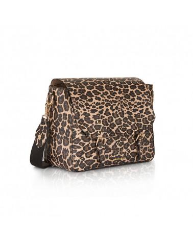 Borsa a tracolla lisa lifestyle leopard LE PANDORINE   LISA LIFESTYLELEOPARD