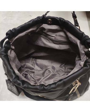 vicky bucket in eco fur LE PANDORINE   VICKY BUCKET VITAWHITE