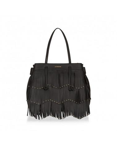 wendy crazy bag  fringe LE PANDORINE   WENDY BAG FRINGE CRAZYBLACK