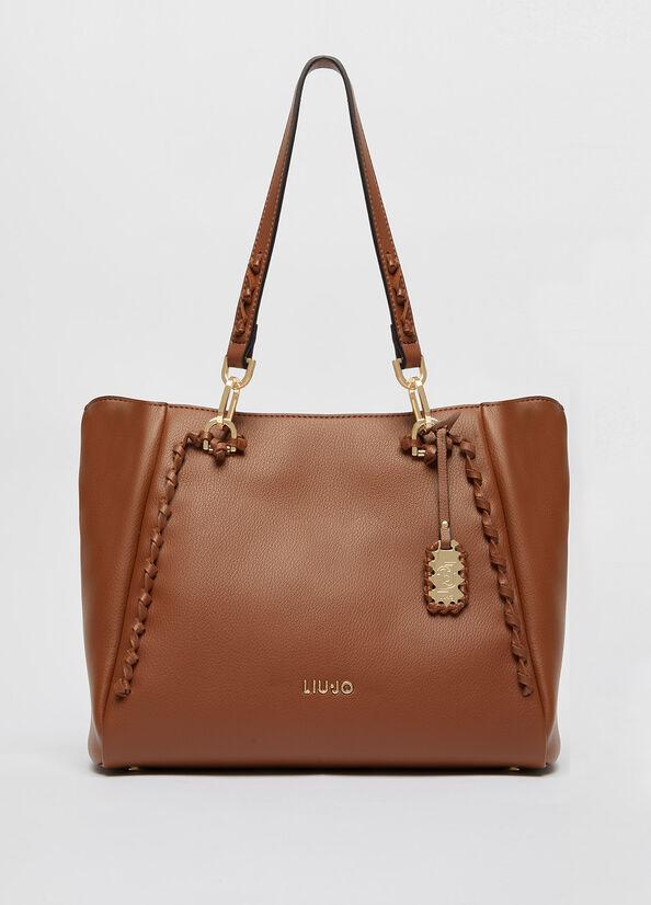 Shopping bag con charm LIU.JO | AF1059E022191241