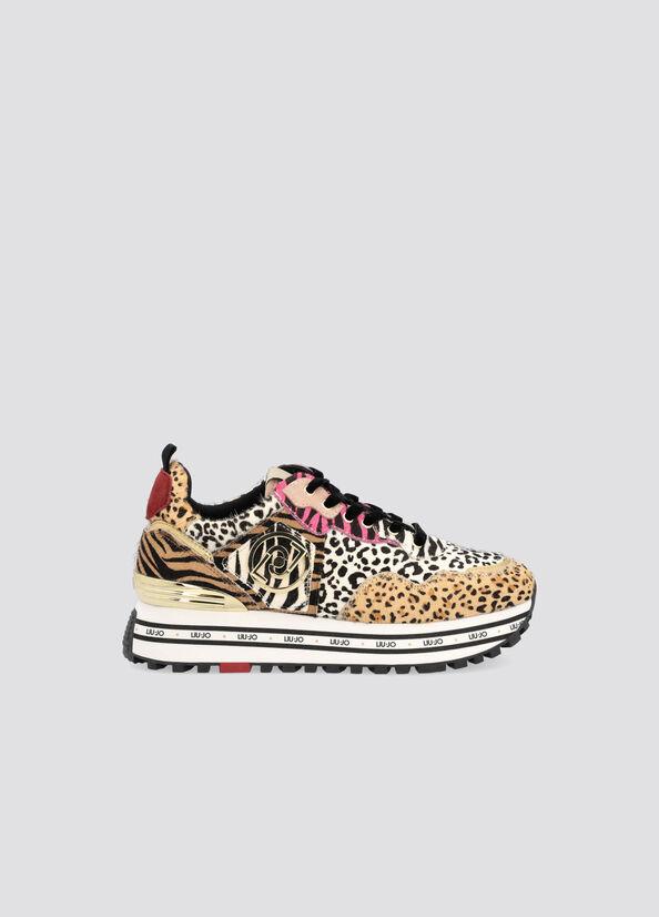 sneakers liu jo maxi wonder LIU.JO | BF1051PX008ANIMALIER
