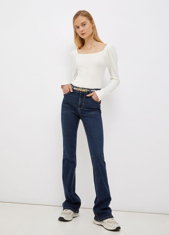Jeans flare a vita alta LIU.JO   UF1015D426878096