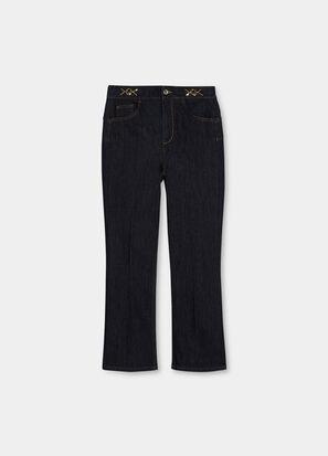 Jeans flare con dettagli gioiello LIU.JO   UF1106D309277000