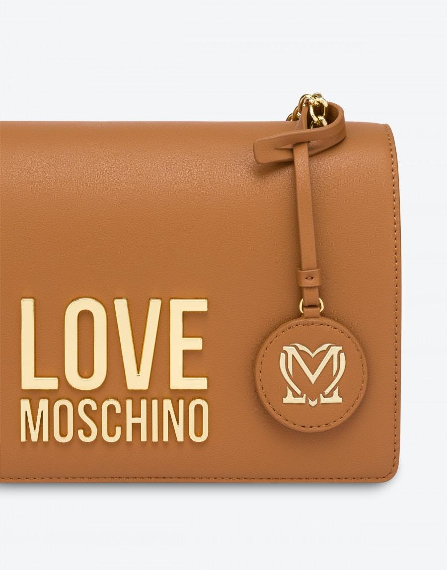 borsa a spalla Gold metal logo LOVE MOSCHINO   JC4099PP0DLJCAMMELLO